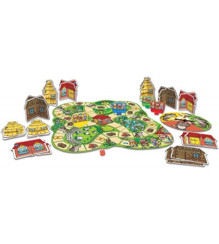 Joc de societate Orchard Toys - Cei trei purcelusi - Jocuri de masă