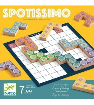 Joc tactic Djeco, Spotissimo - Jocuri de masă