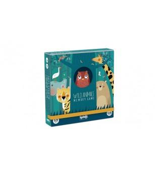 Joc de memorie Londji, Animale salbatice - Jocuri de memorie și asociere