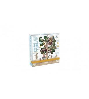 Micro-Puzzle Copacul anotimpurilor - Puzzle-uri
