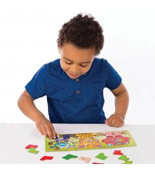Joc educativ Orchard Toys - Cizmulitele de Cauciuc - Jocuri de masă