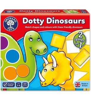 Joc educativ - Dinozaurii cu pete - Jocuri de masă