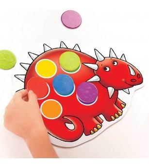 Joc educativ Orchard Toys - Dinozaurii cu pete - Jocuri de masă