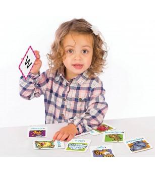Joc educativ in limba engleza Orchard Toys - Alfabetul - Jucării limbaj