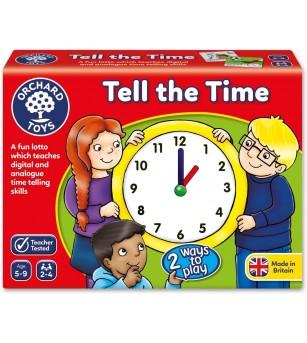 Joc educativ loto in limba engleza Orchard Toys - Citeste ceasul - Ceas și calendar