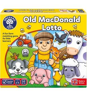 Joc educativ Loto - Old MacDonald - Jocuri de memorie și asociere