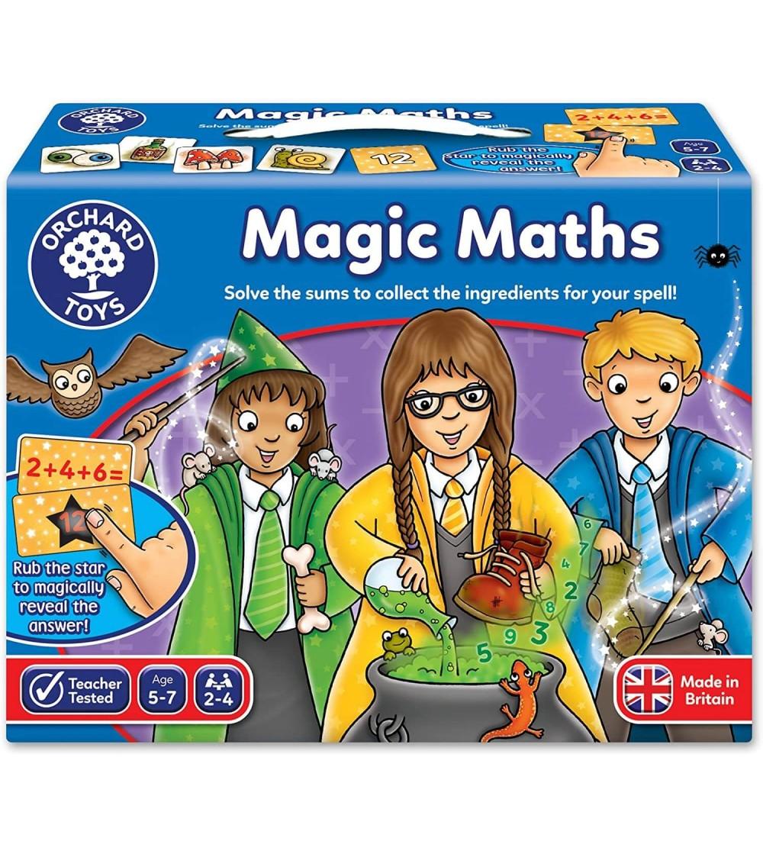 Joc educativ Orchard Toys - Magia Matematicii - Jucării matematică