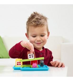 Joc Smart Games - Three Little Piggies - Deluxe - Jucării logică
