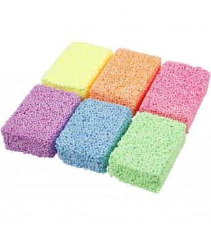 Set spuma moale Soft Foam, 6 culori neon - Crafturi