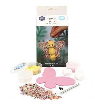 Kit fluturasul Belle din plastilina Silk Clay si Foam Clay - Crafturi