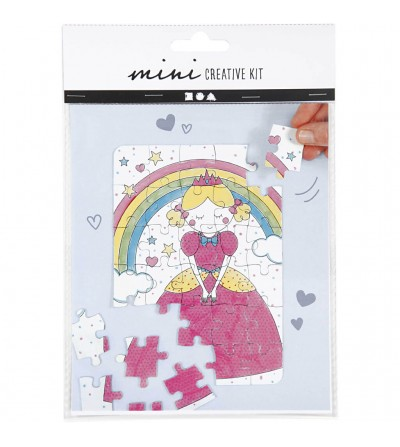 Mini kit creativ - puzzle printese - Crafturi