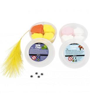 Mini kit creativ - Papusi pentru deget - Crafturi