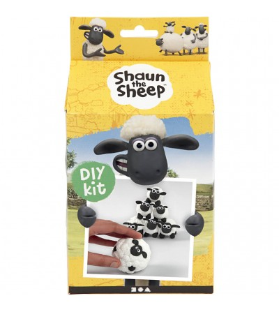 Kit DIY Shaun the Sheep - Bowling din plastilina Silk Clay si Foam Clay - Crafturi