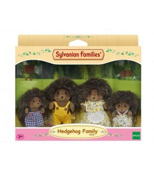 Figurine Sylvanian Families 4018 - Familia Ariciului - Figurine