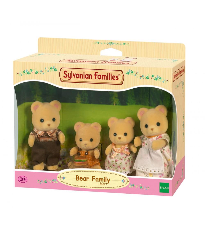 Figurine Sylvanian Families 5059 - Familia Urs - Figurine