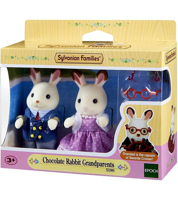 Figurine Sylvanian Families 5190 - Bunicii iepurasi Ciocolata - Figurine
