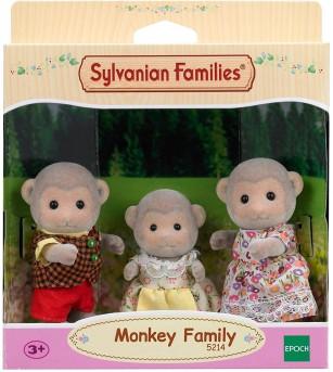 Figurine Sylvanian Families 5214 - Familia Maimutelor - Figurine