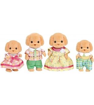 Figurine Sylvanian Families 5259 - Familia Pudel - Figurine