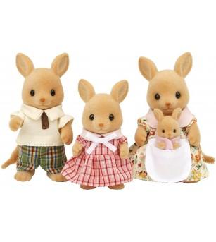 Figurine Sylvanian Families 5272 - Familia Cangur - Figurine