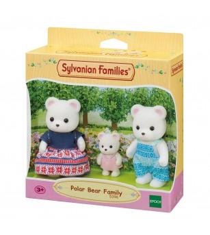 Figurine Sylvanian Families 5396 - Familia ursilor polari - Figurine