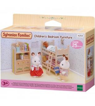 Sylvanian Families 4254 - set mobilier dormitor copii - Figurine
