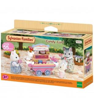 Sylvanian Families 5053 - Carucior de dulciuri - Figurine