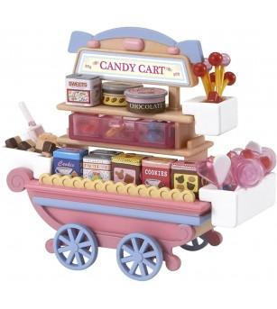 Sylvanian Families 5053 - Magazinul mobil de dulciuri - Figurine
