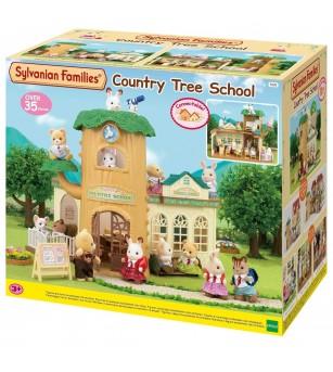 Sylvanian Families 5105 - Scoala din copac - Figurine