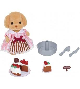 Figurina Sylvanian Families 5264 - Set decorare tort - Figurine