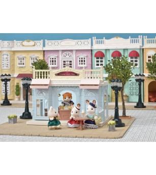 Sylvanian Families 6008 - Magazinul de inghetata - Figurine
