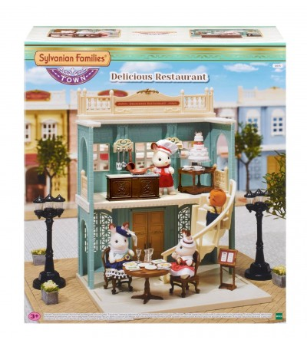 Sylvanian Families 6018 - Restaurantul Delicios - Figurine
