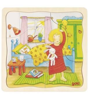 Puzzle straturi Goki - O zi din viata mea - Puzzle-uri