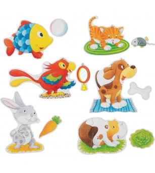 Set puzzle Goki - Animale de companie - Puzzle-uri