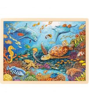 Puzzle lemn Goki - Marea bariera de corali - Puzzle-uri