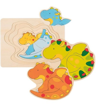 Puzzle straturi Goki - Dragoni - Puzzle-uri