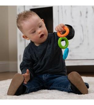 Jucarie senzoriala Fat Brain Toys Silly Rings - Jucării bebeluși