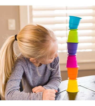 Jucarie senzoriala Fat Brain Toys Suction Kupz - Jucării bebeluși