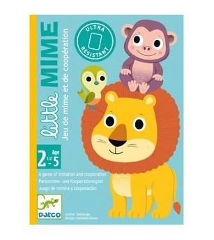 Joc de carti Djeco, Toddler Little Mime - Jocuri de memorie și asociere