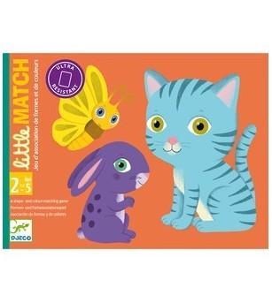 Joc de carti Djeco, Toddler Little Match - Jocuri de memorie și asociere