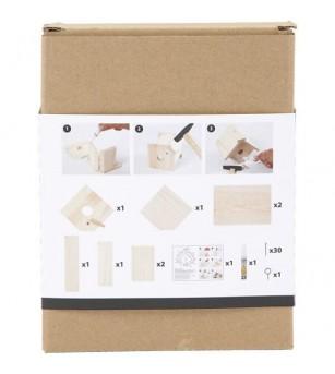 Kit asamblare - Casuta pentru pasari - Jocuri construcție