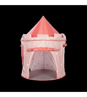 Cort de joaca pentru copii, roz piersica, MamaMemo - Corturi