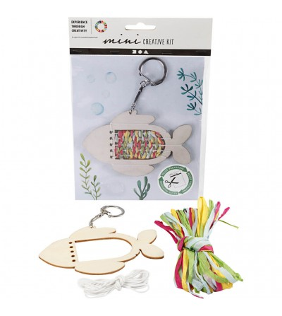 Mini kit creativ - breloc peste - Crafturi