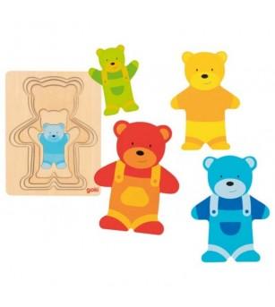 Puzzle straturi Goki - Ursuleti - Puzzle-uri
