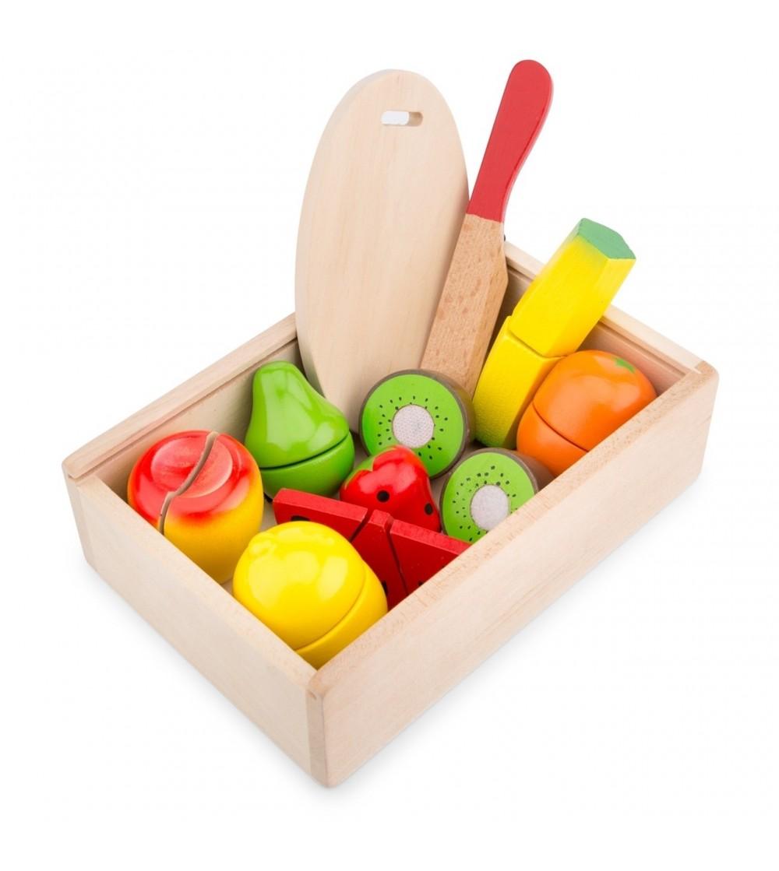 Cutie cu fructe - Jucării de lemn si Montessori