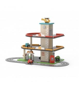Parcare supraetajata cu benzinarie si heliport, Viga - Vehicule de jucărie