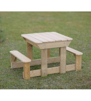 Masa de picnic senzoriala cu bancute si loc pentru nisip si apa (T3), Wendi Toys - Locuri de joacă