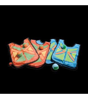 Joc de coordonare Belly Catch cu 4 veste, BS Toys - Jucarii exterior