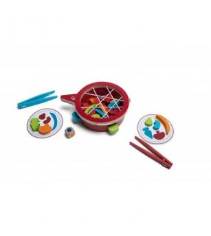 Joc de precizie Veggie, BS Toys - Jocuri de îndemânare