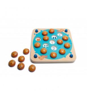 Joc de memorie Memo Fish, BS Toys - Jocuri de memorie și asociere