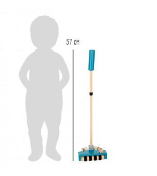 Aspirator vertical din lemn, Legler Small Foot - Seturi de menaj si bricolaj copii